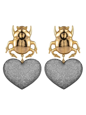 Begum Khan - Beetle My Love Earrings - Women