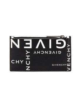 Givenchy - Black And White Wallet - Men