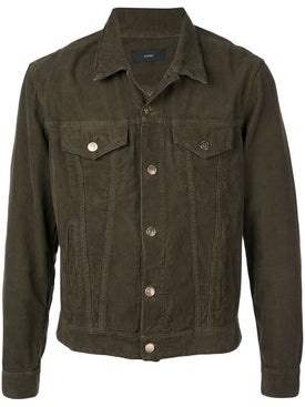 Alanui - Contrast Interior Denim Jacket - Men
