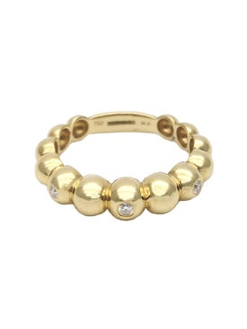 Rosa De La Cruz - 3 Diamond Boules Ring - Women