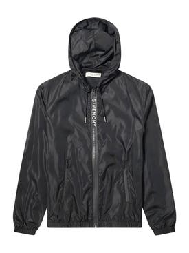 Givenchy - Logo Hooded Windbreaker - Men