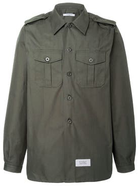 Givenchy - Cotton And Linen Military Shirt - Men