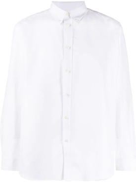 oxford logo print shirt