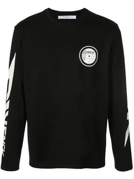 Givenchy - Paris Graphic Long Sleeve Black/white