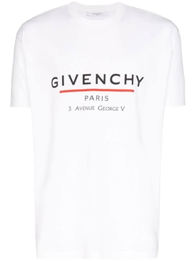 Paris logo t-shirt white