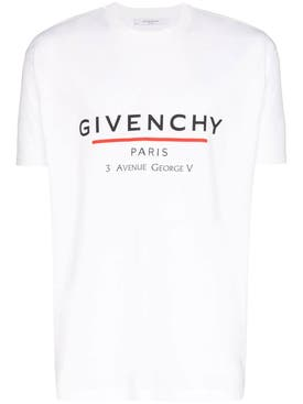 Givenchy - Paris Logo T-shirt White - Men