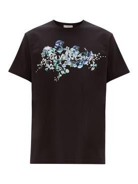 Givenchy - Floral Logo T-shirt