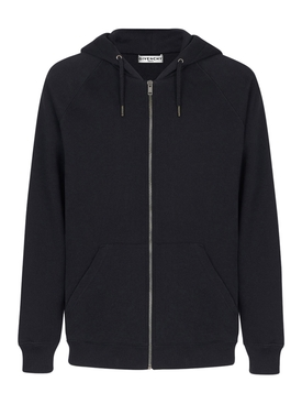 Double Logo Zip Up hoodie