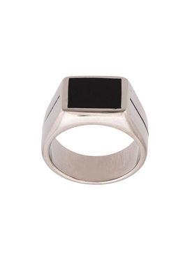 two tone signature ring