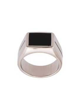 Givenchy - Two Tone Signature Ring - Men