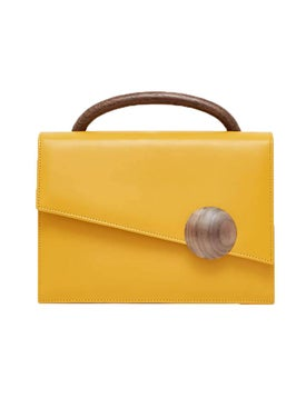 Bakari - Heras Handbag Yellow - Women
