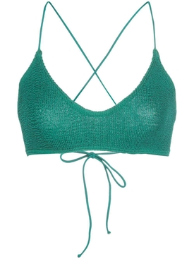 Bound By Bond-eye - Green Selena Bikini Top - Women