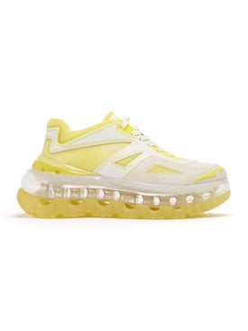 Shoes 53045 - Bump'air Acid Yellow Sneakers - Men