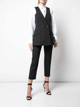 Givenchy - Sleeveless Blazer Jacket Black - Women