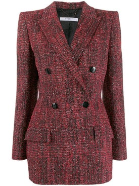 Givenchy - Double-breasted Tweed Jacket - Women