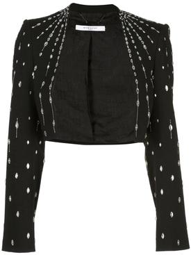 Embellished bolero jacket