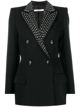 Givenchy - Black Embellished Blazer - Women
