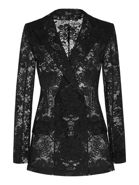 Lace long jacket