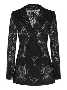 Lace long jacket