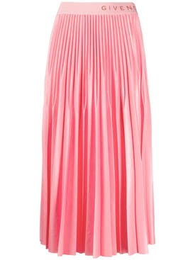 Givenchy - Pink Pleated Skirt - Women