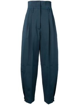 high-waisted ballon trousers