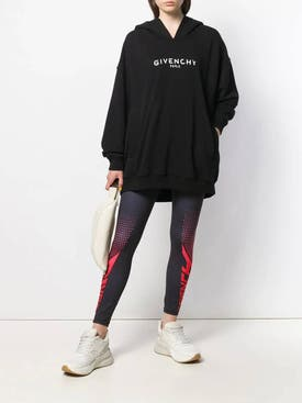 Givenchy - Two Tone Leggings Black/red - Women