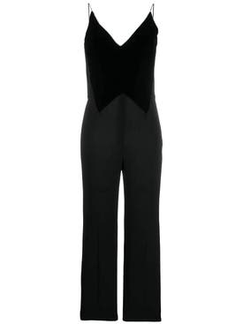 Givenchy - Velvet Panel Jumpsuit - Women