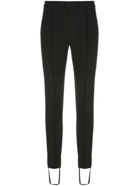 stirrup leggings black