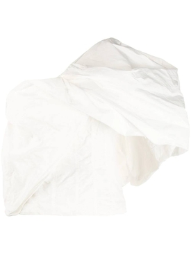 voluminous one shoulder top