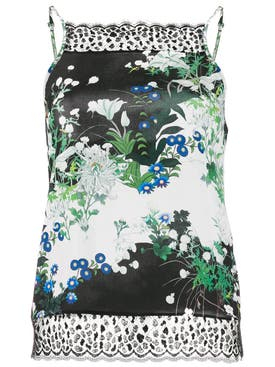 Givenchy - Silk Floral Print Top - Women