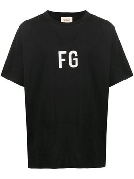 Fear Of God - Over-sized Fg Logo T-shirt - Men