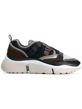 Chloé - Eclypse Lace-up Sneakers - Women