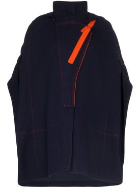 Chloé - Hooded Poncho Coat - Women