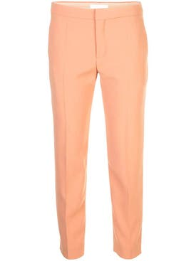 Chloé - Cropped Slim-fit Trousers - Women