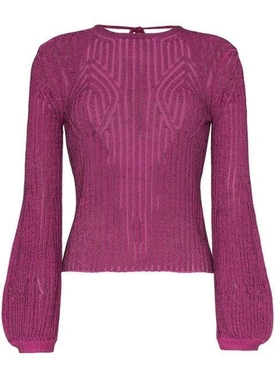 Chloé - Tie Back Knitted Top - Women