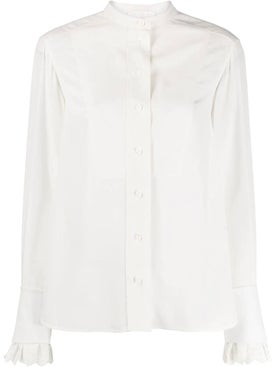 Chloé - Scalloped Cuff Shirt - Long Sleeved