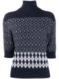 Chloé - Intarsia High-neck Knit Sweater - Tops
