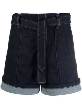 Chloé - Nautical Denim Shorts - Women