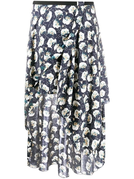 Chloé - Floral Bouquet Skirt - Women