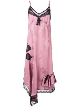 Coach - Lace Day Dress Pink - Women