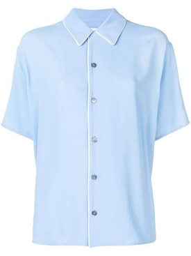 pajama shirt BLUE
