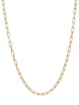 18kt yellow gold link chain