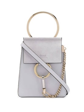 Chloé - Light Grey Small Faye Bracelet Bag - Women
