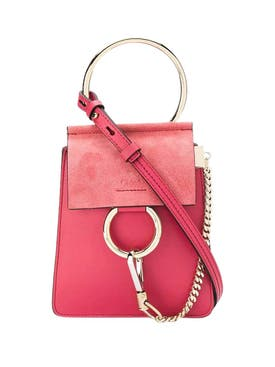 Chloé - Pink Mini Faye Bracelet Bag - Women
