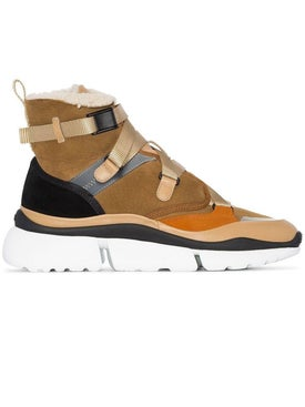 Chloé - Sonnie High-top Sneakers - Women