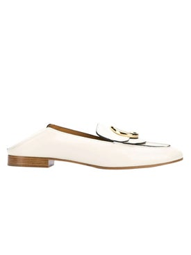 Chloé - White Leather Loafers - Women