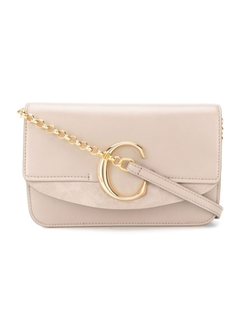 Chloé - C Ring Shoulder Bag - Women