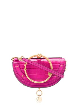 Chloé - Graphic Pink Nile Minaudiere Bag - Women