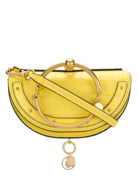 Chloé - Nile Minaudiere Bracelet Bag Joyful Yellow - Women