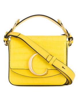 Chloé - Mini C Bag Yellow - Crossbody